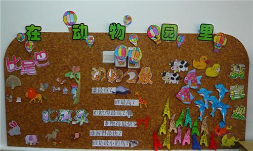 幼儿园动物主题墙设计,动物园主题装饰