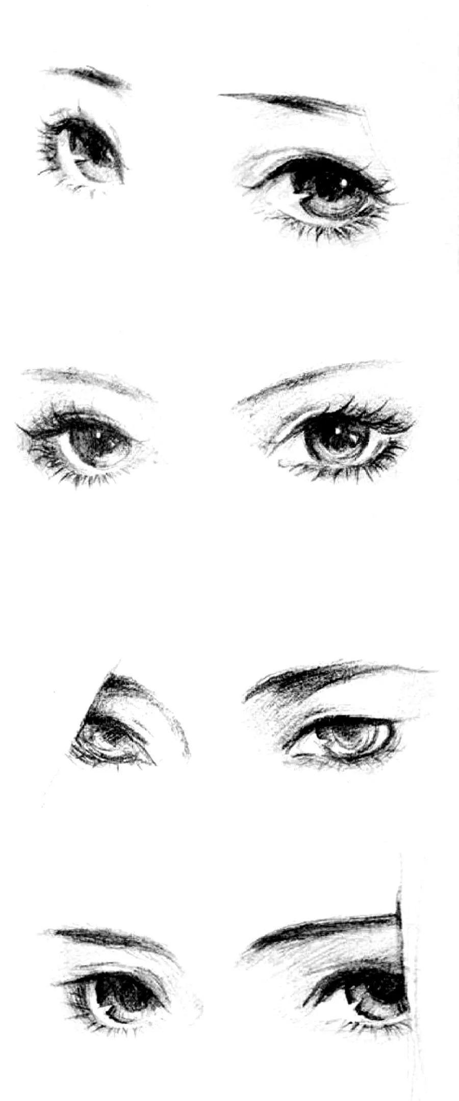 这么唯美的手绘古风眼睛,你肯定见过图片