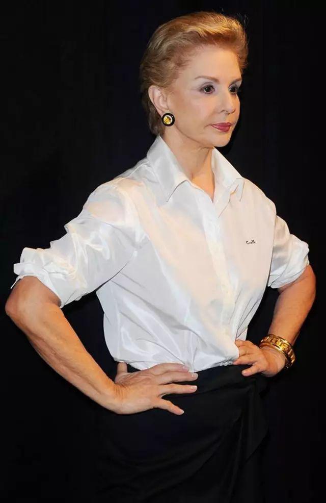 79岁的她设计的礼服让明星们美翻天,可是她却独爱白衬衫
