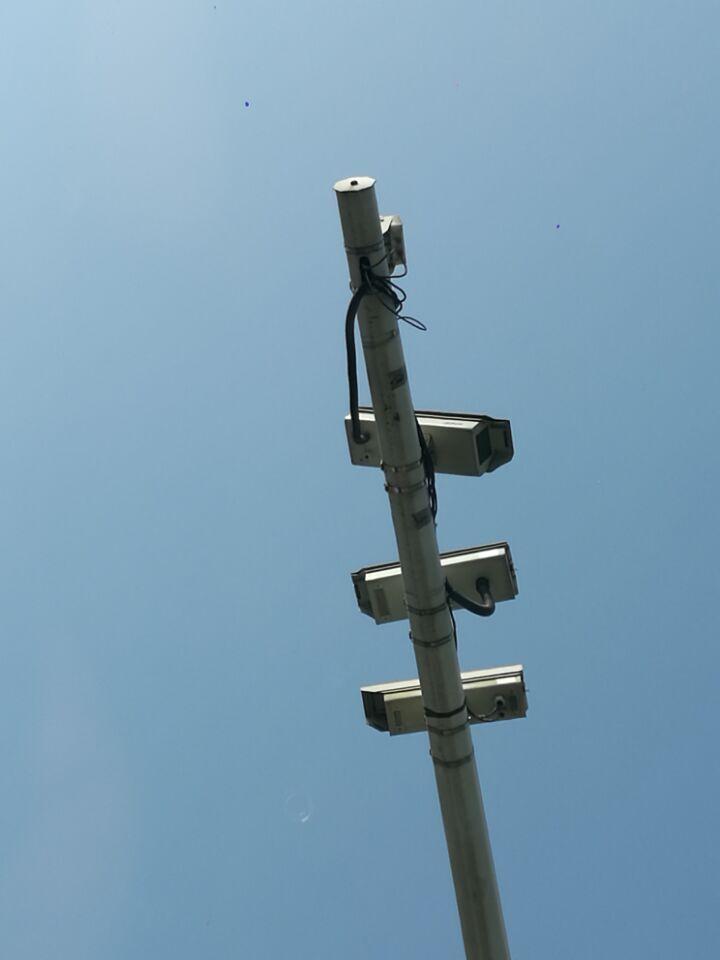 监控立杆选择与安装将影响使用效果