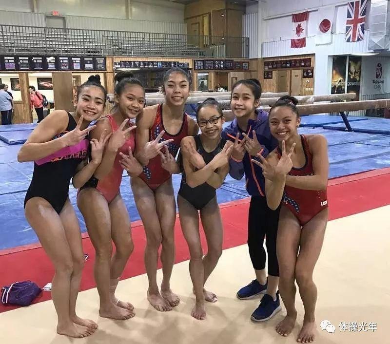 跳高平自均衡发展——美国体操亚裔小分队解密