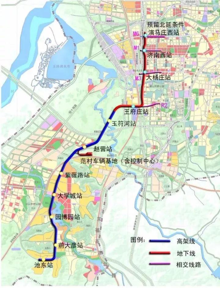 尧王山片区规划图