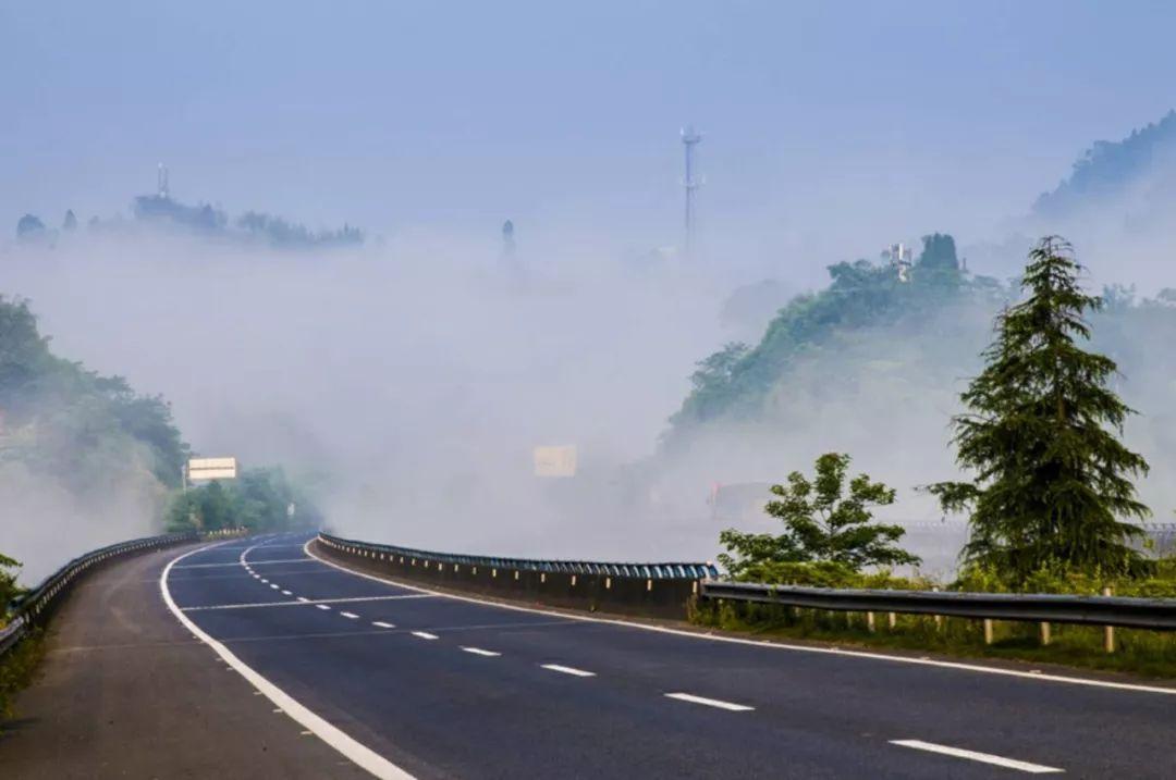 忠州风景大片!云雾升腾如仙境