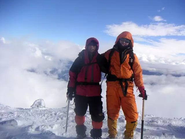 站在风雪的云端——2018年5月13日相约云南 哈巴雪山徒步