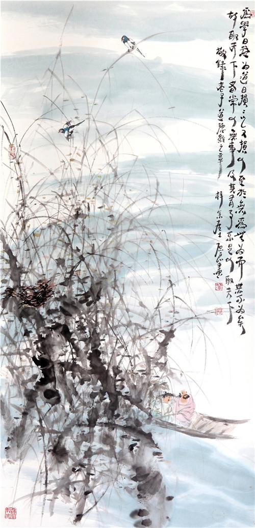 翰墨丹青:著名画家翟原良绘画艺术