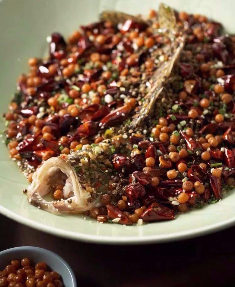 花椒豌豆鱼