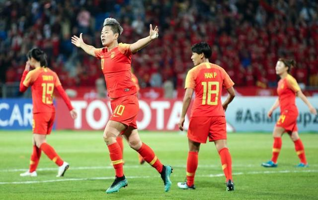 亚洲杯女足小组3连胜轰15球拼搏到底精神让男足们惭愧