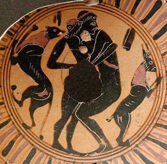图为古希腊瓶画图片
