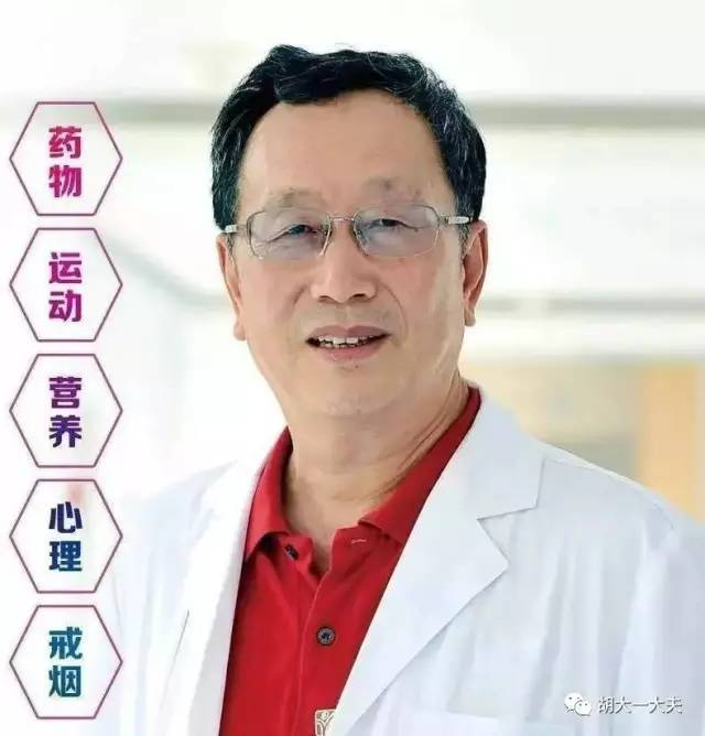 胡大一:预防血管老化,自测血管年龄——养成健康生活方式和行为