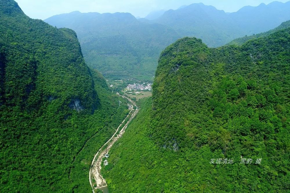 你根本不知道,阳山竟隐藏着一条广东罕见的壮丽大峡谷