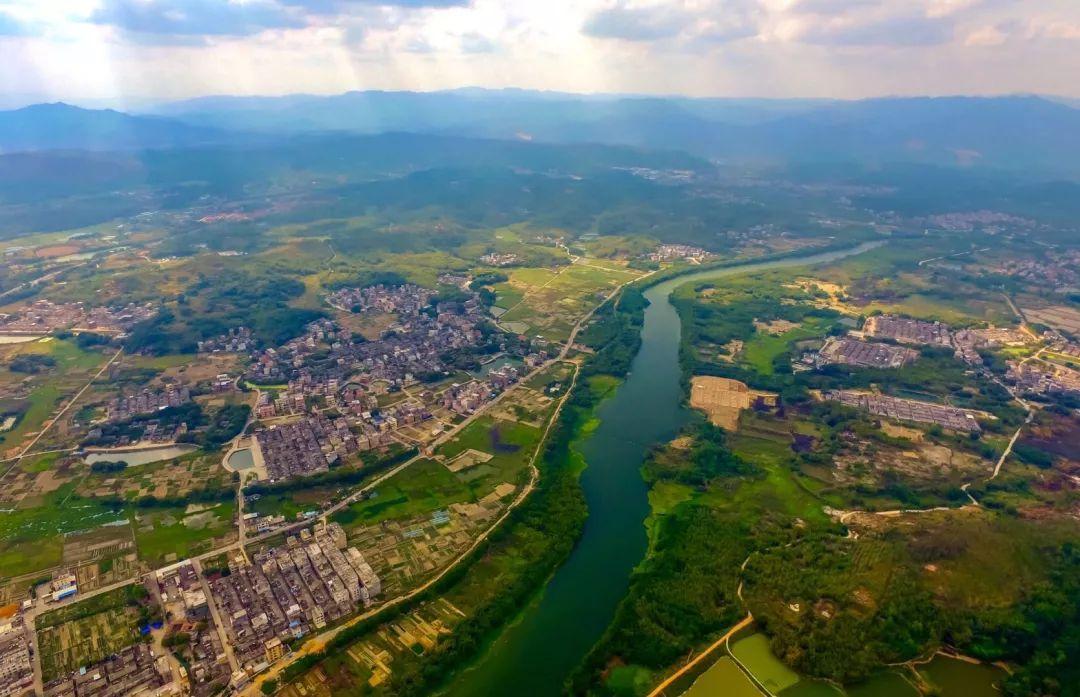 金和镇_美丽揭西 | 鸟瞰塔头镇,大气壮观,震撼人心!