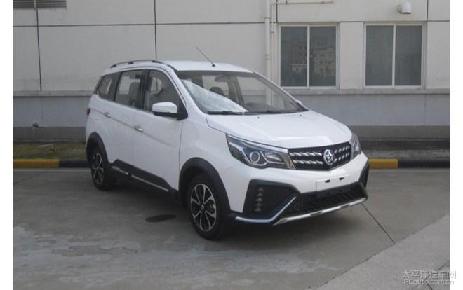 东风启辰M50V新车型申报信息 增跨界套件