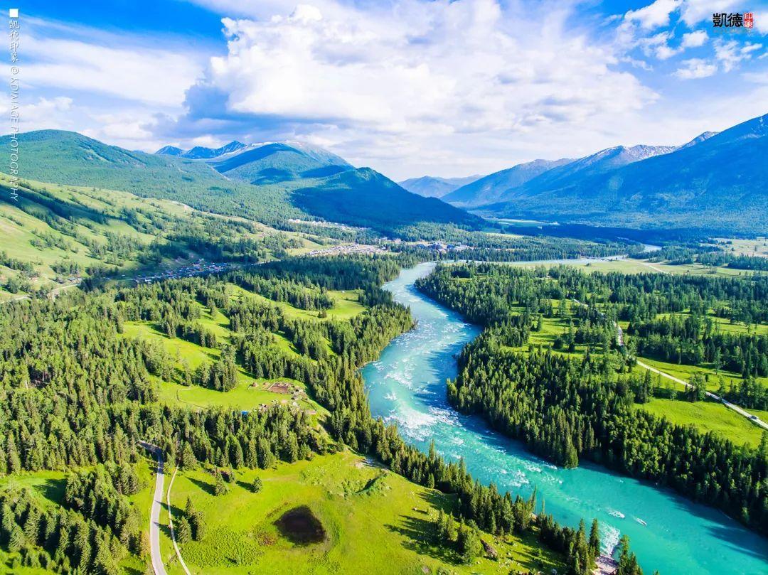 新疆喀纳斯宛若仙境,随手拍都是大片,春夏旅行清单赶紧收好!