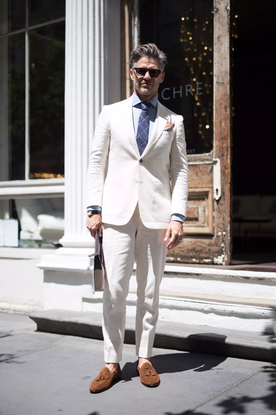 穿搭 | 绅士的夏日苦恼,你需要来一件亚麻材质的服装