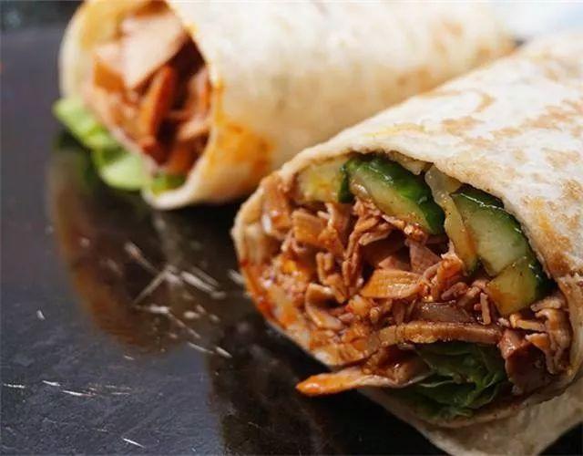 酱巷传世老北京卤肉卷
