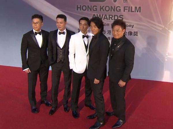 经典电影《古惑仔之人在江湖》主演合体, 陈小春重现山鸡哥模样