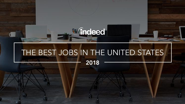 The Best Jobs in the United States - 2018
