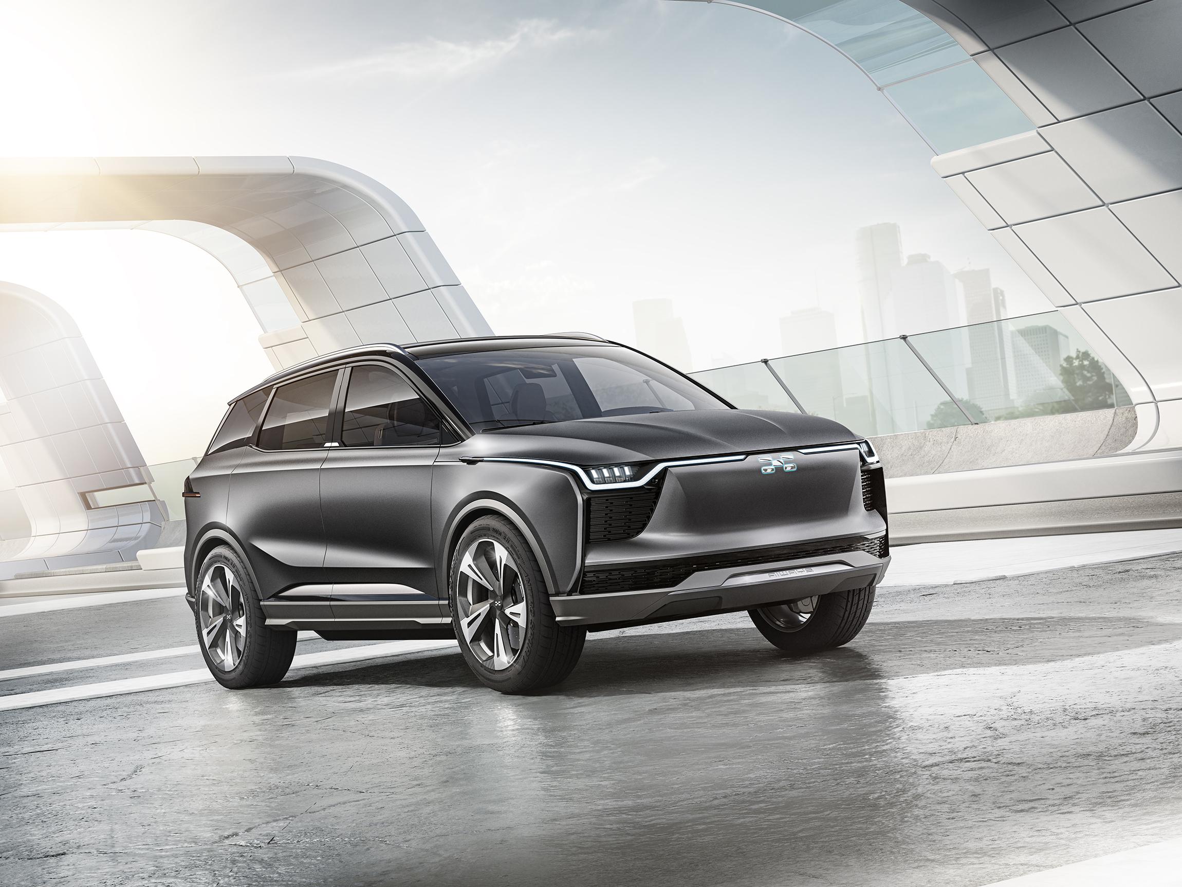 定名U5-ION 爱驰汽车首款纯电动SUV官图发布(第1页) -