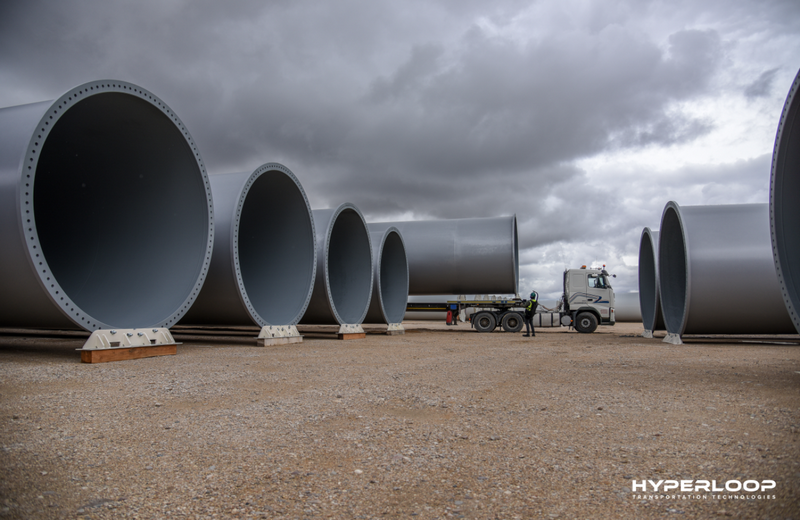 HyperloopTT 打破沉默 宣布在法建造超高速管道列车测试管道
