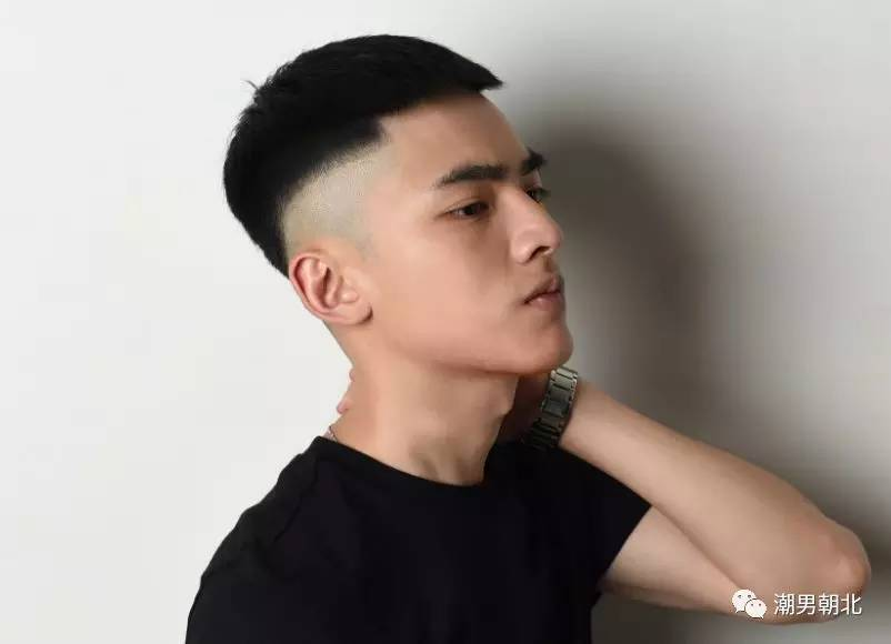 男生这些短发很帅,夏天就剪这发型!图片
