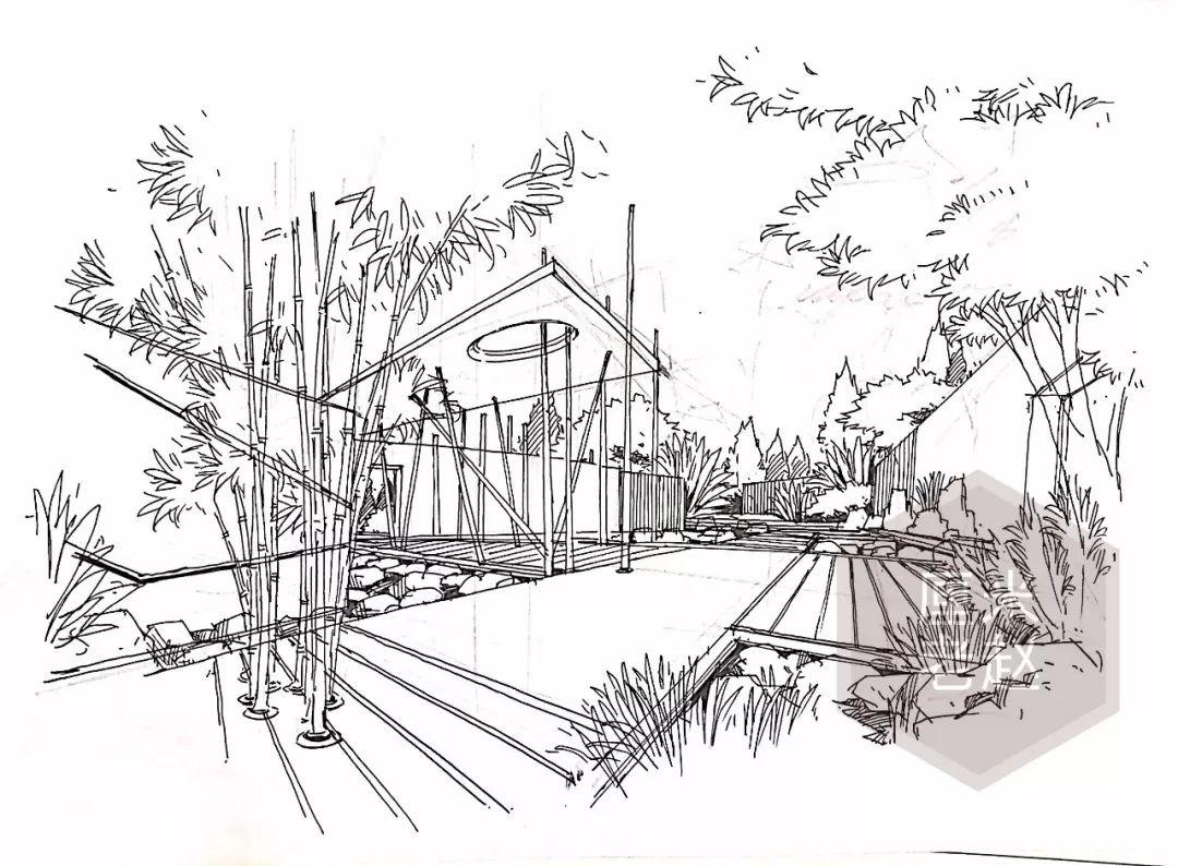 【南京林业大学】景观设计快题的效果图如何画的又快又有内容?