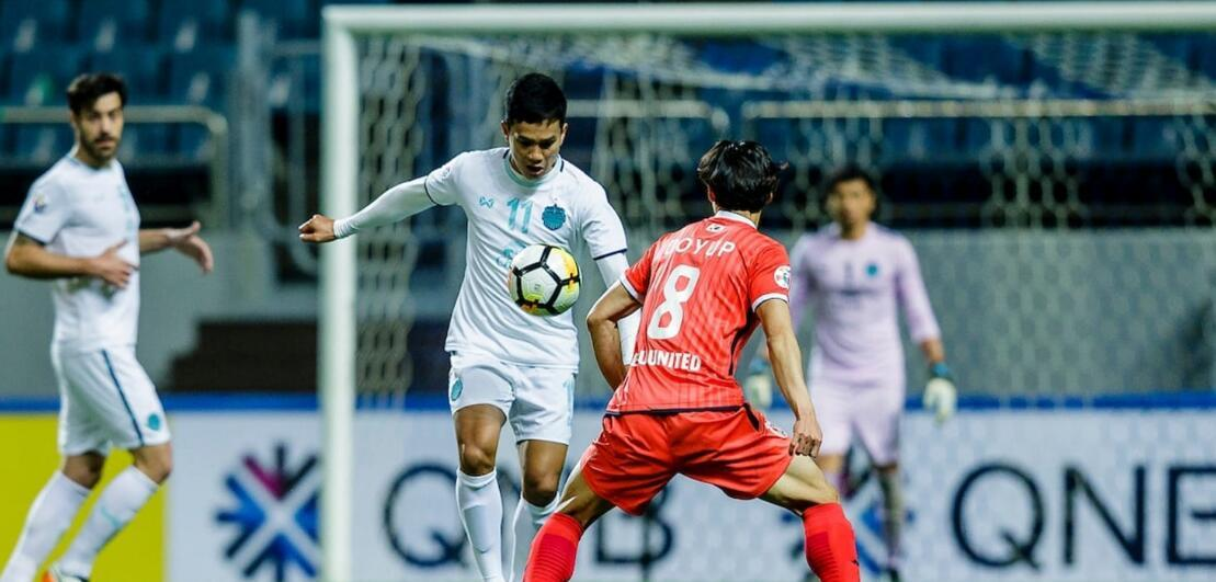 国内足球 亚冠-武里南联客场1-0胜济州联 携手恒大进16强