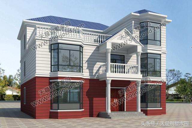 今天带来2款外观相同的别墅,尺寸和内部结构完全不同,一款开间比较