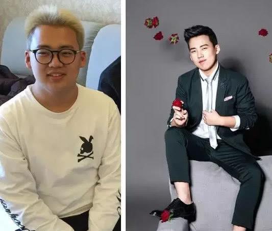 对比老郭发的几年前的照片,不得不承认,王惠和郭麒麟的变化最大.图片