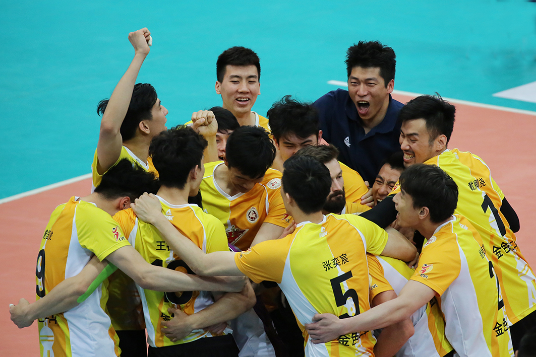 男排决赛IV-上海第三外援首发 3-1北京夺冠军点