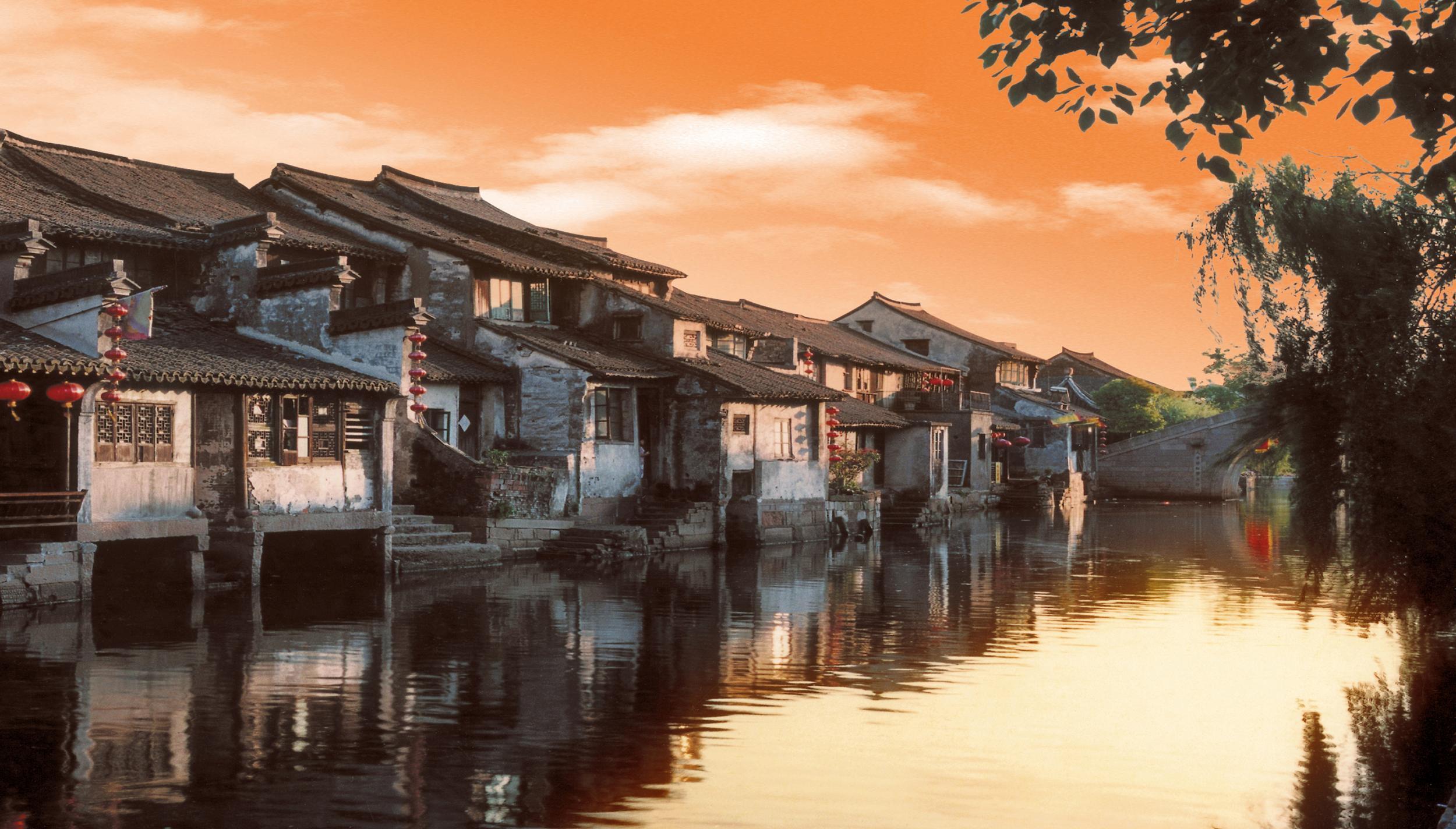 西塘古镇图片大全夜景
