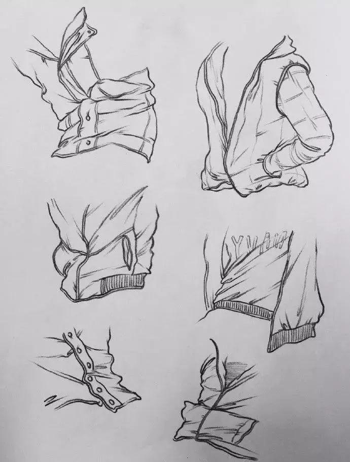 单个人物手绘简笔画