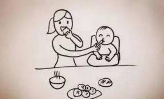 儿童画 简笔画 手绘 线稿 685_414
