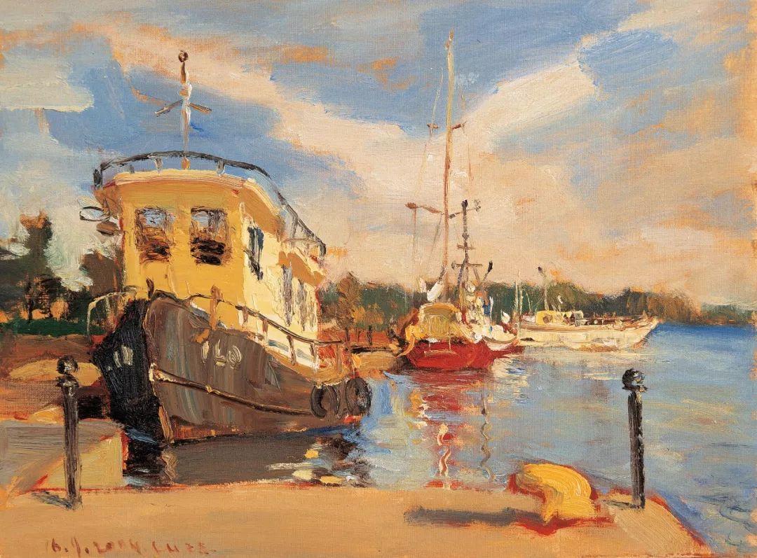从美术史角度看西方当代具象绘画 油画家陆琦主题讲座 艺诺专访