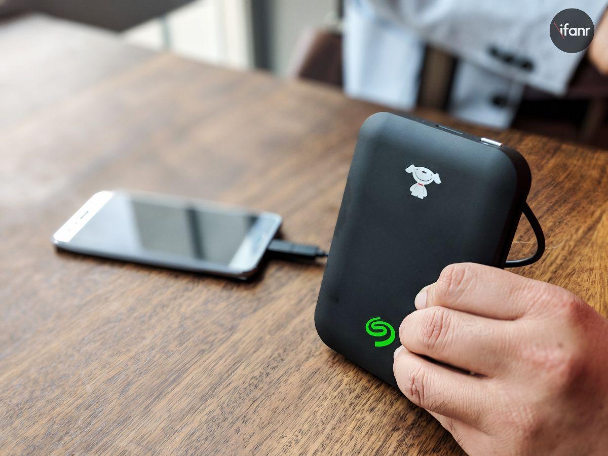 希捷联手京东发了个1tb的移动硬盘充电宝,专为 android 用户打造图片