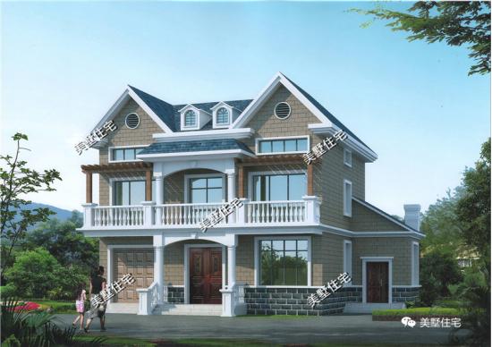 转角盖房子设计图片