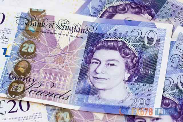英镑创脱欧公投以来新高后回落,因薪资数据表现平平