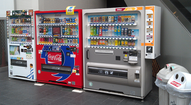 各种无人售货饮料机