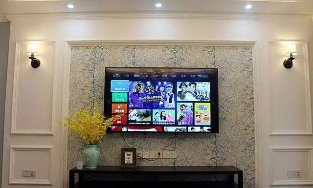 石膏线电视背景墙