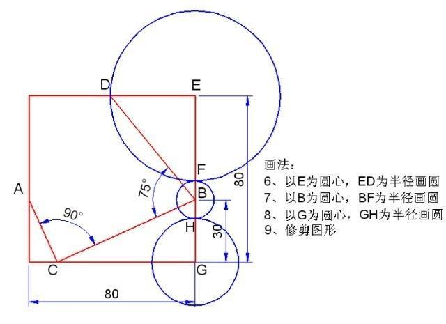 cad零基础画平面图