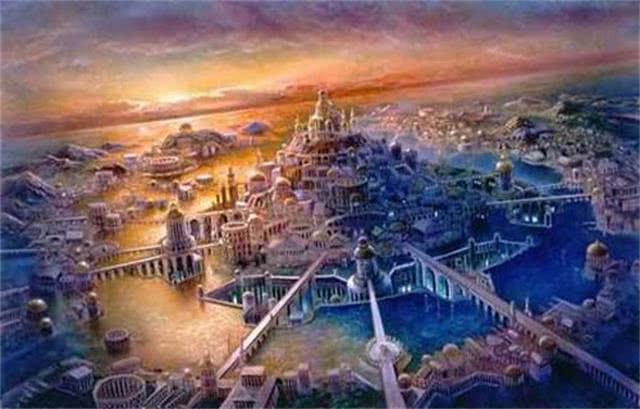 亚特兰蒂斯大陆文明_失落的古代文明!在南极洲发现了古老的亚特兰蒂斯遗址吗?
