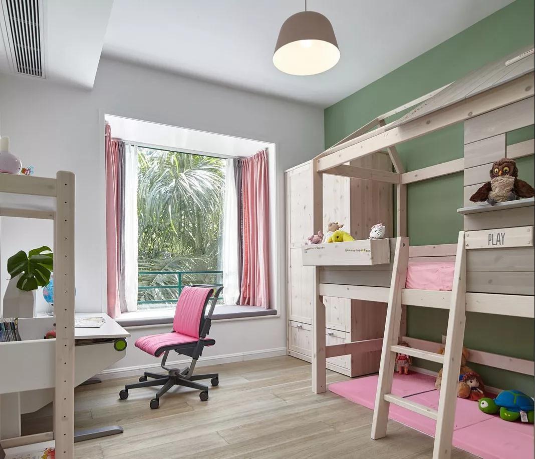 超有爱的新房装修,160㎡北欧混搭风,休闲阳台好令人羡慕!图片
