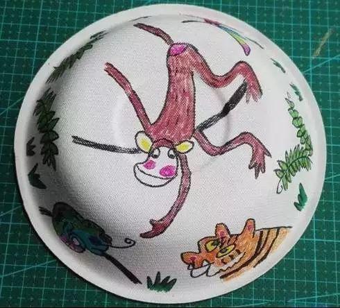 diy帽子手绘图案设计
