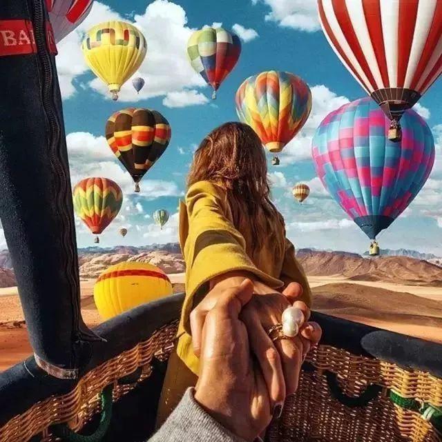 全球10大热气球旅行圣地,看到第一个就已经心动!