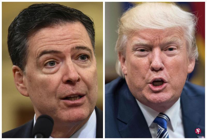 特朗普否认辞退科米与通俄调查有关
