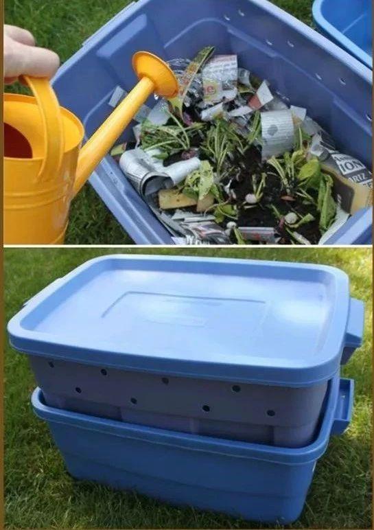 7.蚯蚓堆肥箱图片