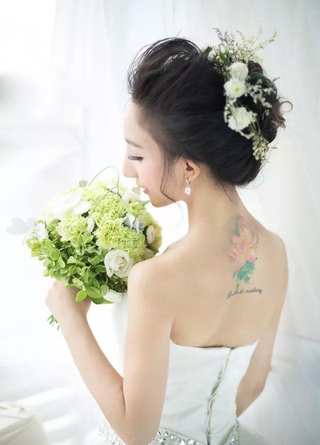 2018最美新娘造型图片