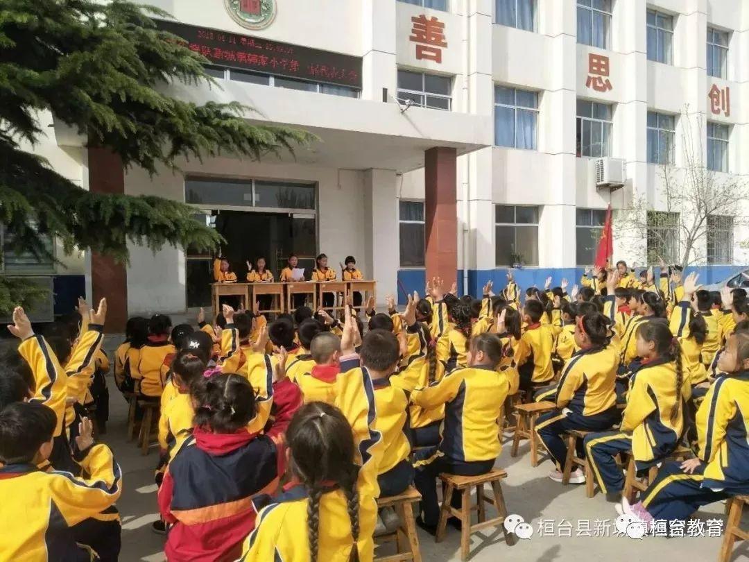 【校园风景线】——中国少年先锋队桓台各大队隆重召开第一次代表大会