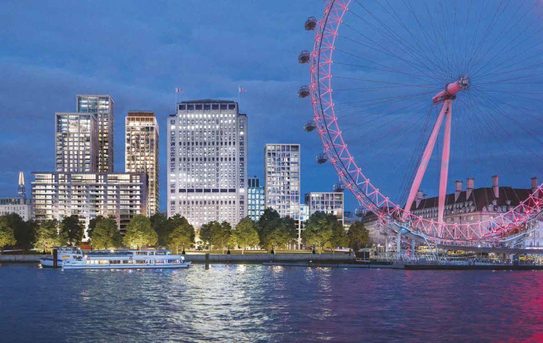 伦敦新出公寓,窗外即是唯美泰晤士河岸!【环球设计1677期】