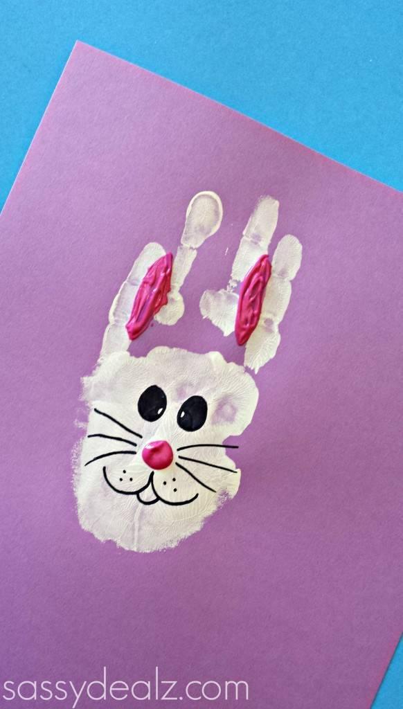 小白兔纸质手工制作大全图片