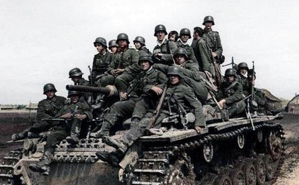 二战德军打日军_1个德国步兵师打1个日本师团谁胜?这场兵力相差10倍的战役已说明
